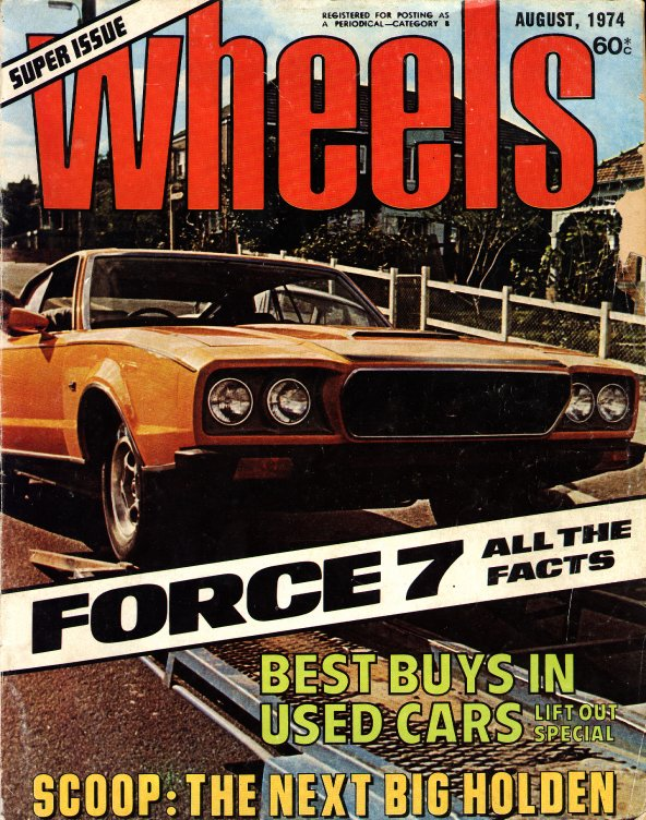 Wheels mag front page